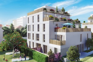 Résidence OPALINE Fontenay Sous-Bois programme immobilier ADN