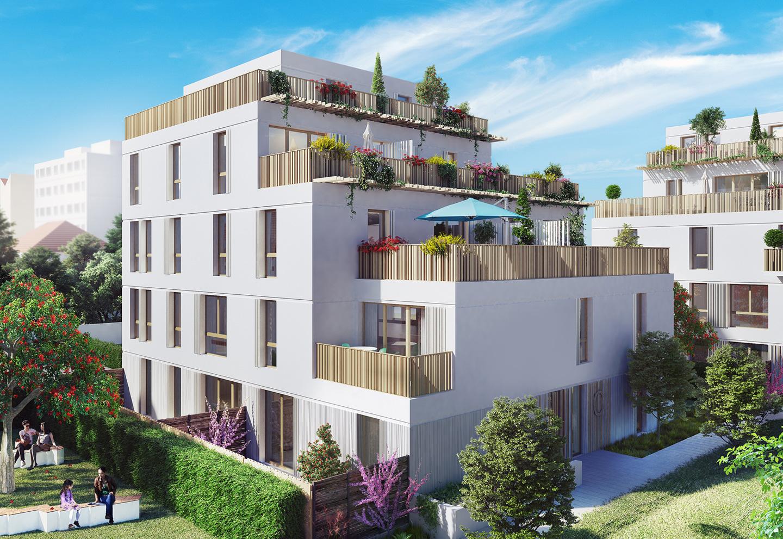 Résidence Fontenay ADN programme immobilier
